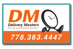 Delivery Masters delivery service in Kelowna