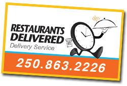Restaurants Delivered- delivering the foods you crave In Kelowna
